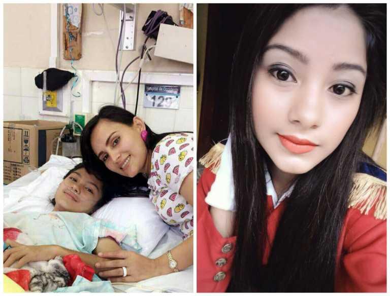 Dania Rodríguez sobrevive a difícil operación en Copán