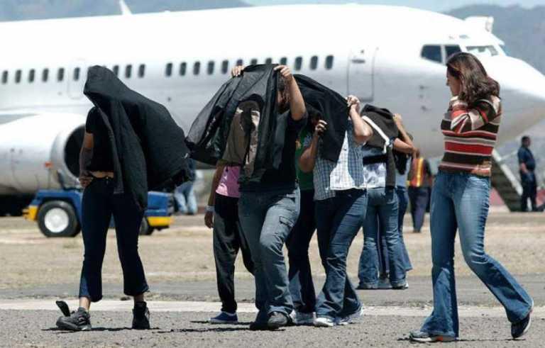 Más de 13 mil hondureños deportados en lo que va del 2018