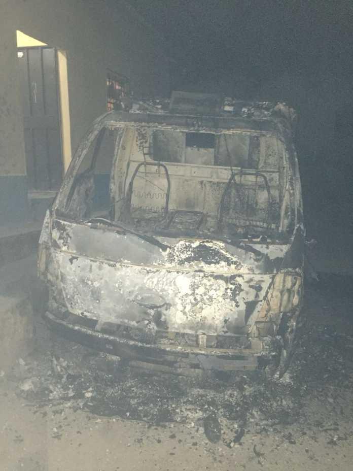 Capturan a segundo sosprechoso de quemar una patrulla en Copán