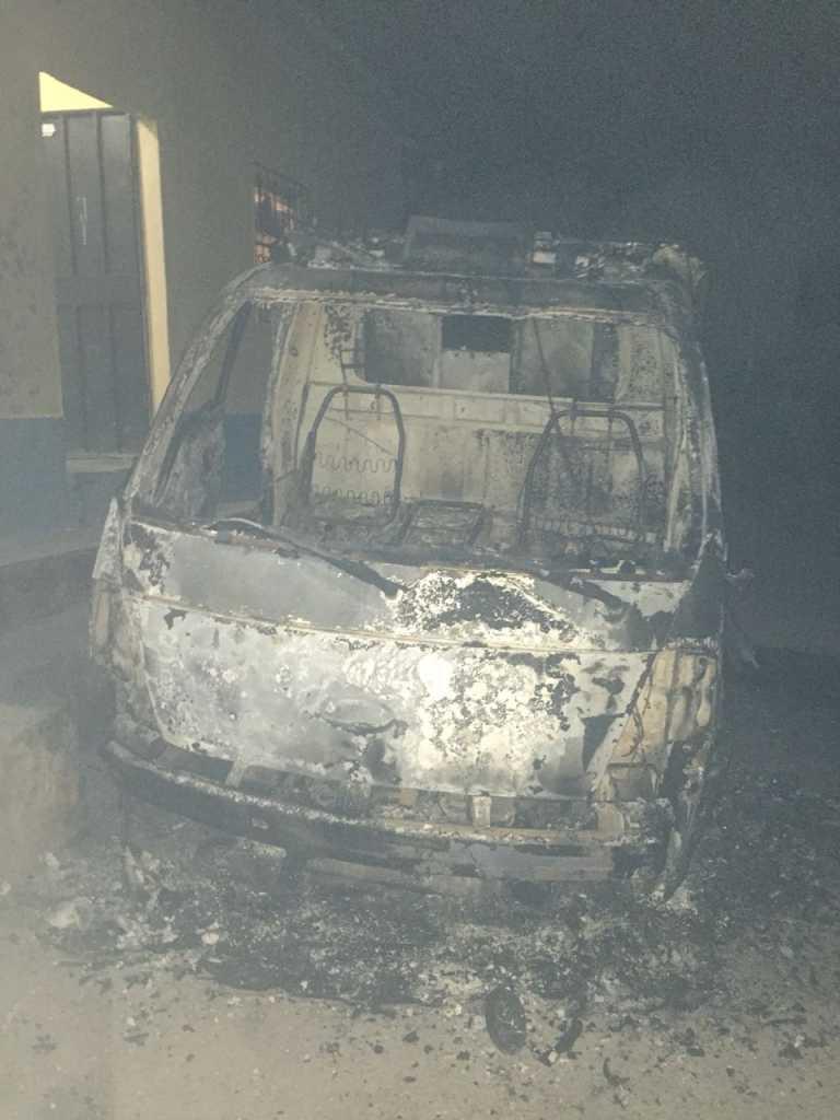 Capturan a sosprechoso de quemar una patrulla en Copán