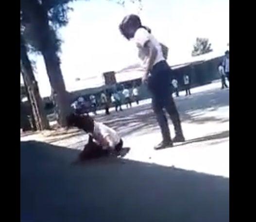 Captan una pelea escolar en Choloma, Cortés