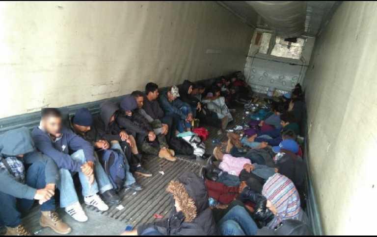Detienen a 83 inmigrantes hondureños en México