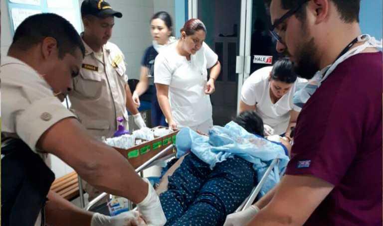 Dos mujeres resultaron heridas en un accidente vial en Danlí
