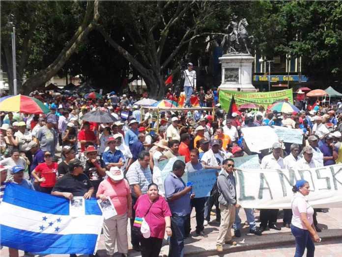 1 de mayo en Honduras