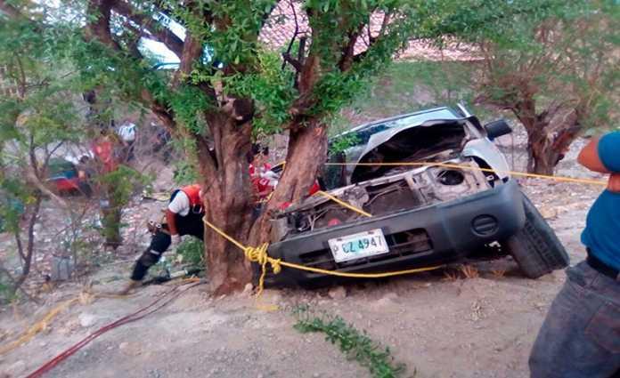 Accidente en la zona sur de Honduras