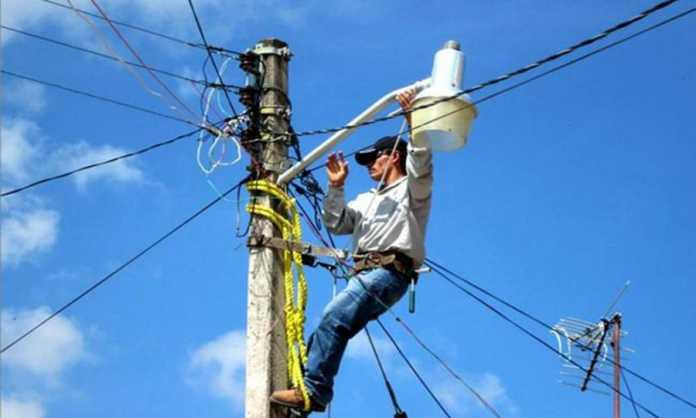 corte de energía en Honduras