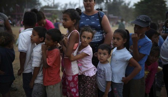Aumentan niños retornados a Honduras en comparación del 2017