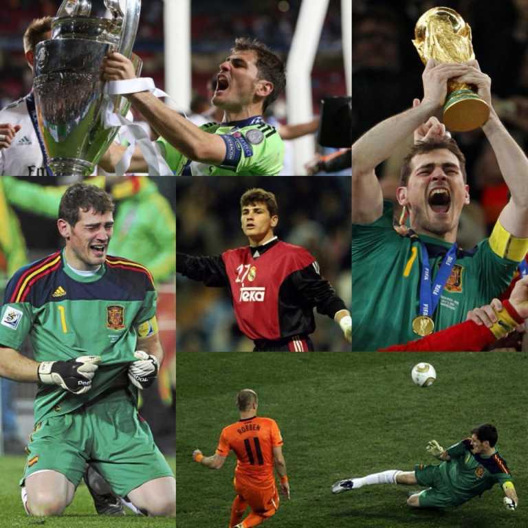 Iker Casillas cumplió 1000 partidos como profesional