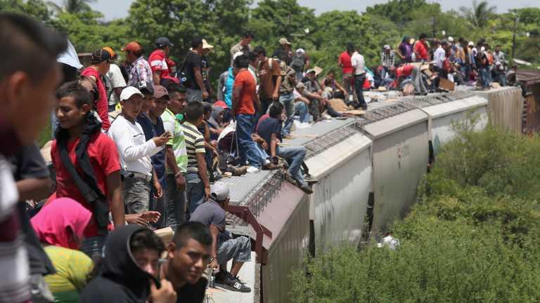 Dejan abandonados a siete emigrantes hondureños en México