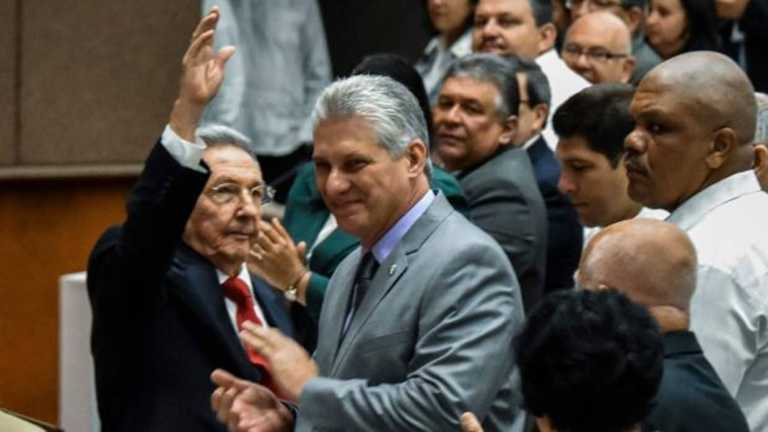 Miguel Díaz-Canel, elegido presidente de Cuba en sustitución de Raúl Castro