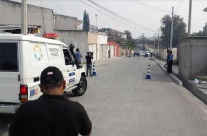 embolsada en Tegucigalpa