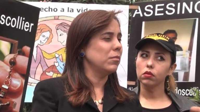 Madre de Collier pide investigar a dueño del carro donde murió su hijo