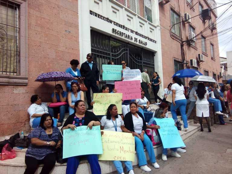 Honduras: Enfermeras auxiliares anuncian paro de labores