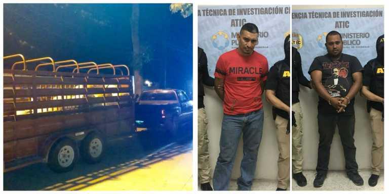 SPS: A la cárcel envían a sujetos que trasportaban marihuana en un camión