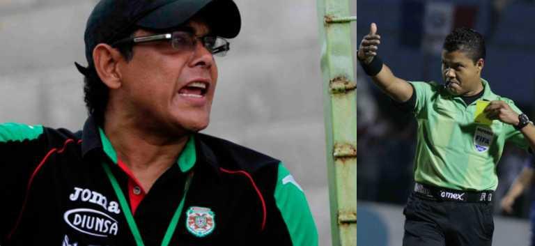 Rolando Peña se niega a que Armando Castro pite el partido ante Real España