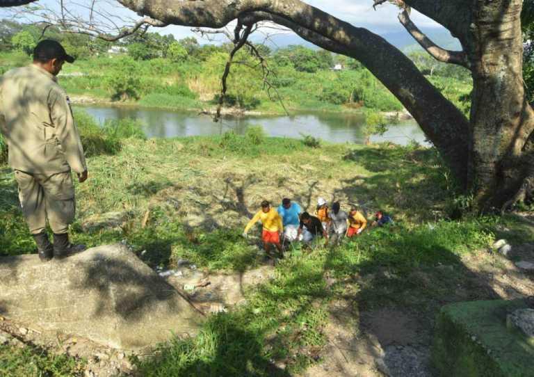 Aparece el cadáver de un hombre en el Río Cangreja
