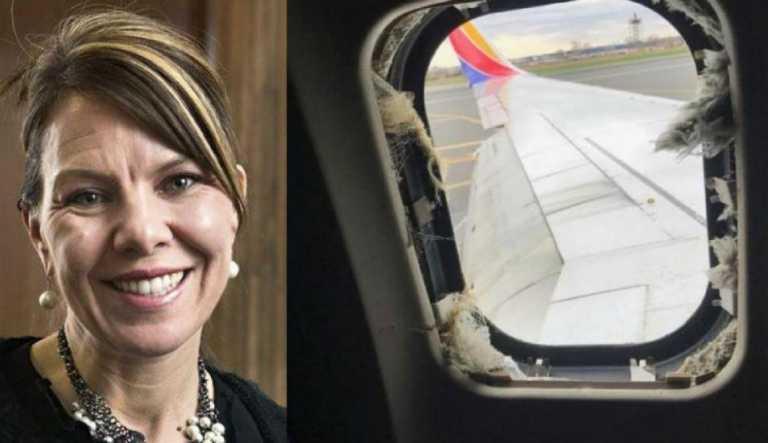 EUA: Víctima en avión era madre de dos niños y fue succionada por la ventana