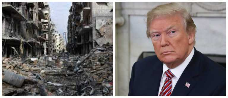 Donald Trump ordena bombardeo en contra de Siria