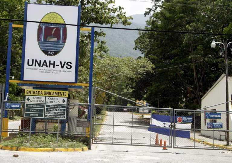 Autoridades de la UNAH-VS incumplen acciones de seguridad
