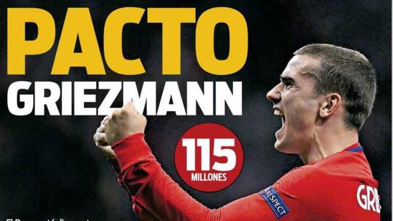 Barcelona cada vez más cerca de llevarse a Antoine Griezmann