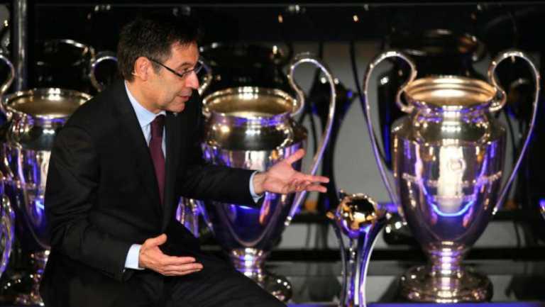 """Bartomeu: """"El Barça no funciona a golpe de talonario como otros equipos"""""""