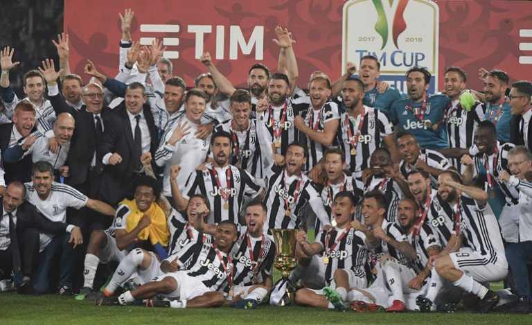 Juventus tetracampeón de la Copa de Italia