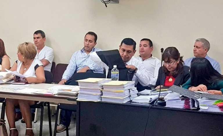 En juicio oral y público se encuentran Mario Zelaya y Bertetty