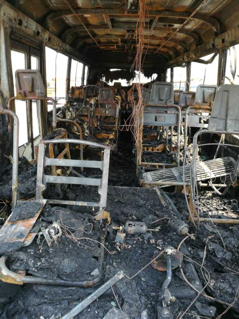 Buses quemados en la Terminal de SPS: ¿corto circuito o extorsión?