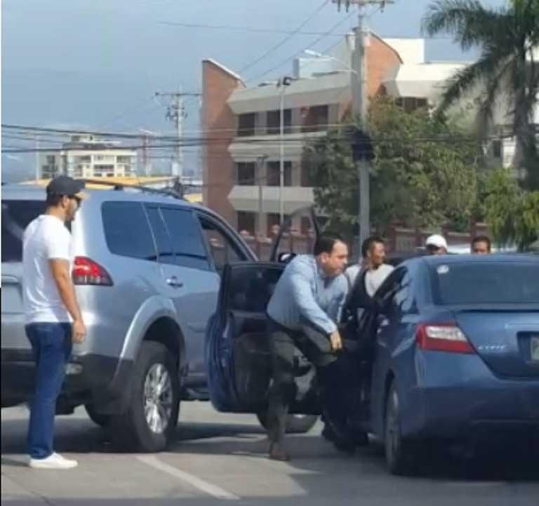 Conductor agredido: «Exijo le cancelen la licencia a Luis Maradiaga»