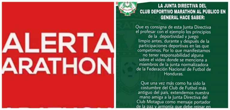 ¡Marathon lamenta publicación de vídeo viral en redes sociales!