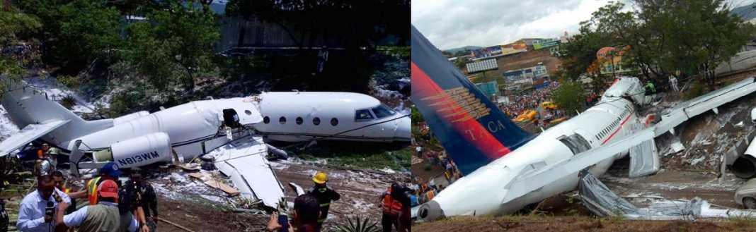 accidentes aéreos en Honduras