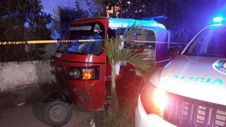 Muere conductor de mototaxi que fue raptado en la colonia El Pedregal