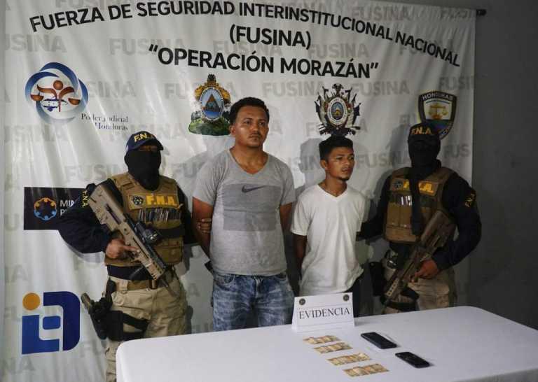 La Lima: Capturan a dos supuestos pandilleros por extorsión