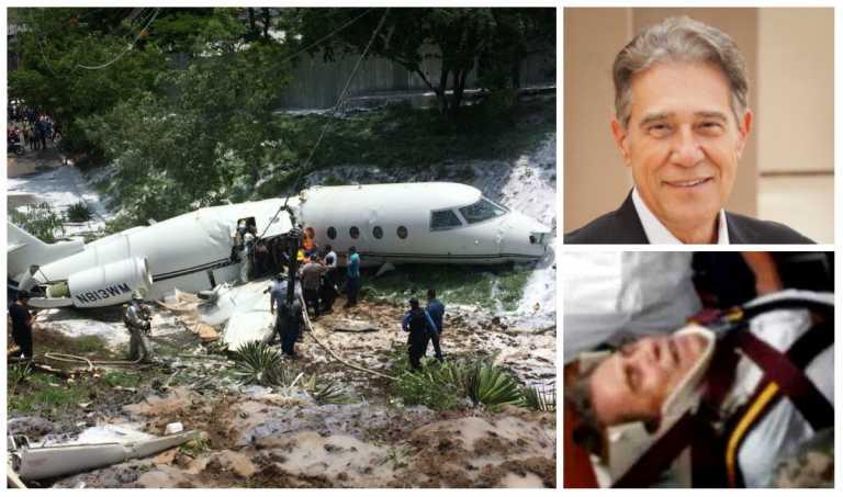 Presidente del imperio EZCorp, hospitalizado tras accidente en Toncontín