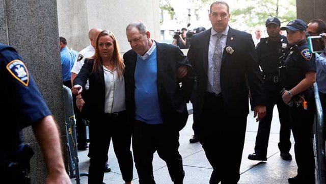 Harvey Weinstein paga por sus abusos sexuales un millón de dólares