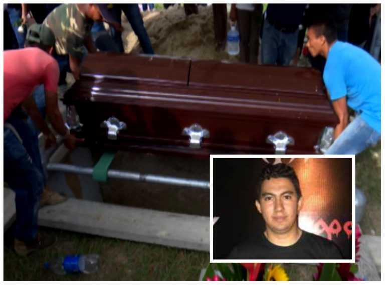 Lágrimas, dolor e indignación en entierro de universitario asesinado en SPS