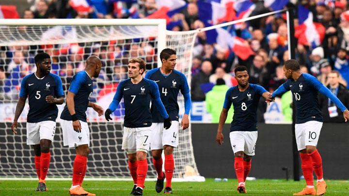 Griezmann, Varane y Mbappé lideran la nómina para el Mundial