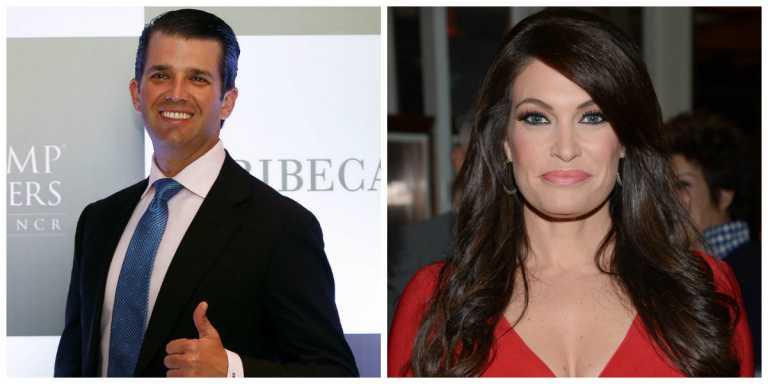 En un proceso de divorcio, y Donald Trump Jr. se consuela con una presentadora