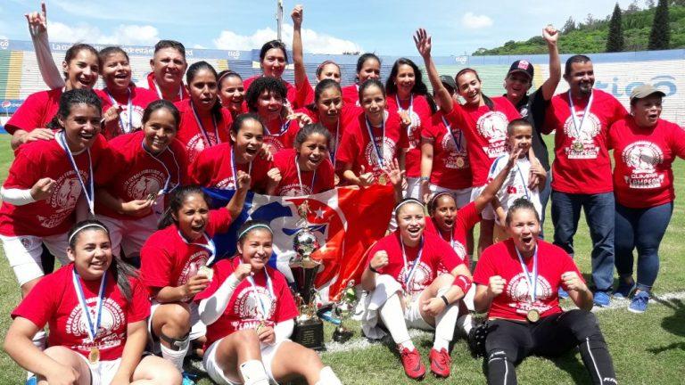 ¡BICAMPEONAS! Olimpia femenino se coronó campeón del Torneo de la Liga Femenina de Honduras