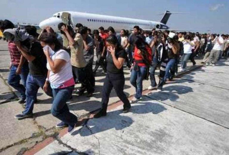 En un 36.6 % se incrementa la deportación de hondureños en 2018