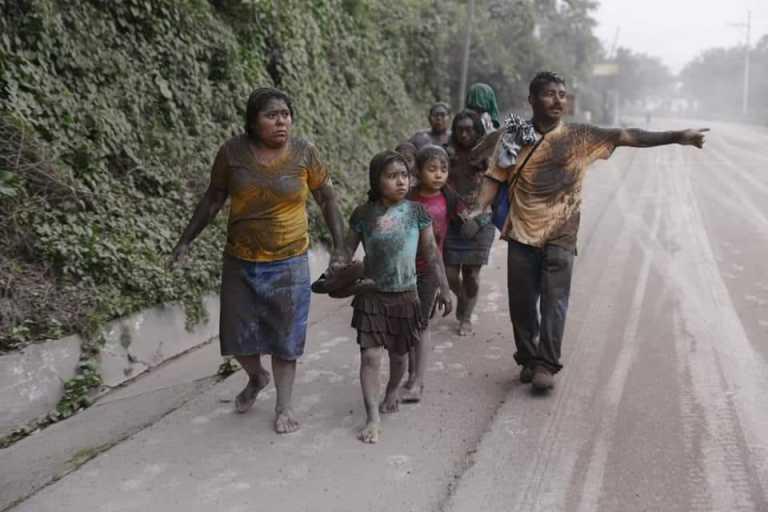 Las imágenes más impactantes del Volcán de fuego en Guatemala