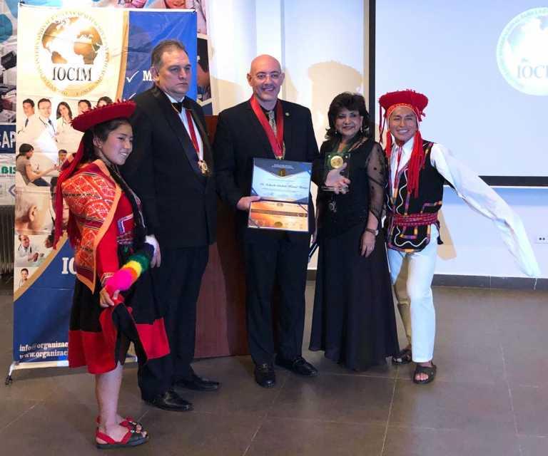 Urólogo hondureño es distinguido a nivel latinoamericano