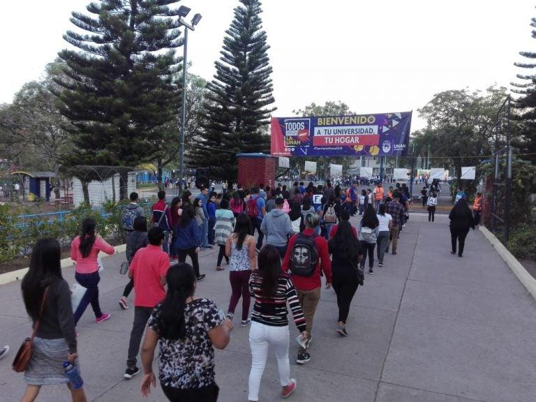 UNAH: Más de 15 mil estudiantes realizarán mañana prueba de admisión
