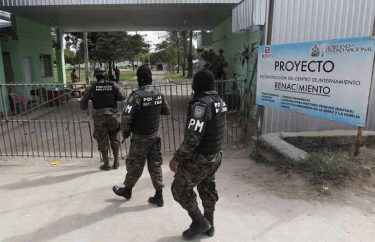Tegucigalpa: Por un agujero se fugan cuatro menores del centro Renaciendo