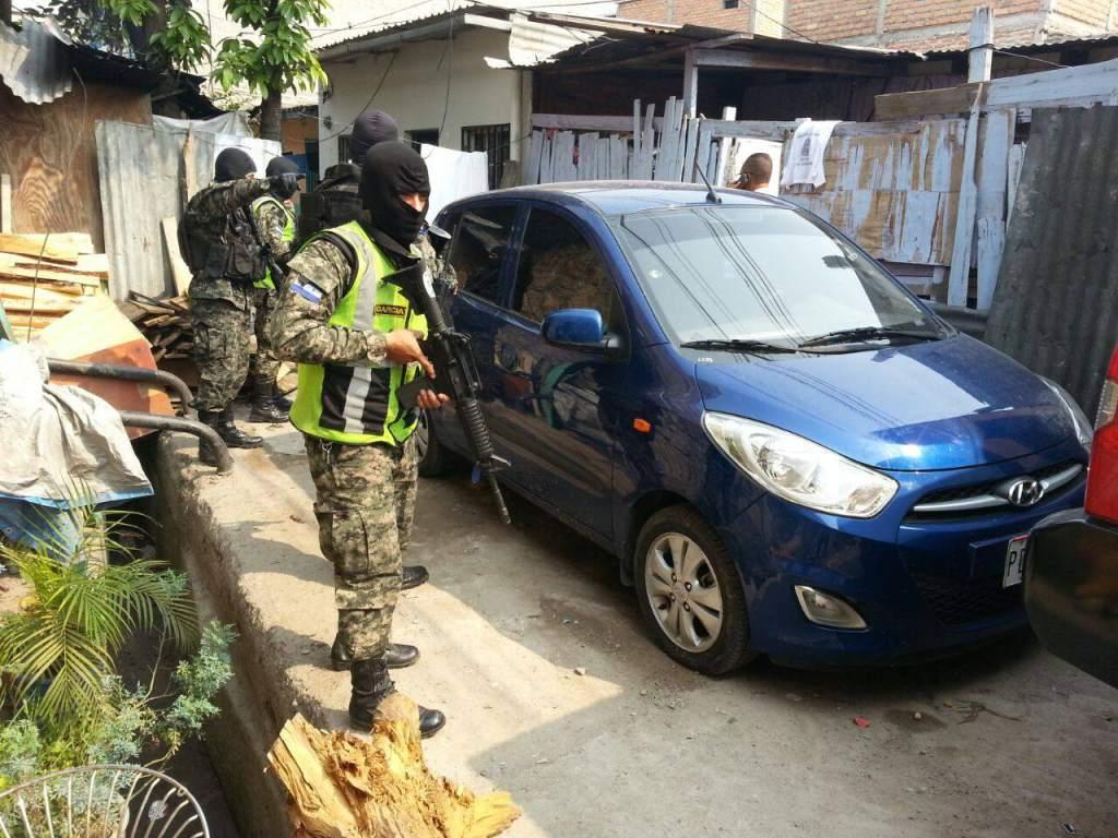 Carros robados en Honduras