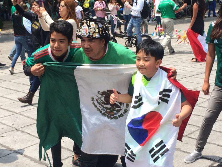 Festejan pase de México a octavos en Embajada de Corea del Sur