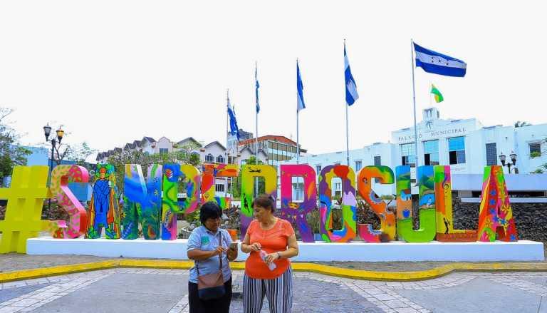 San Pedro Sula ya tiene su parador fotográfico