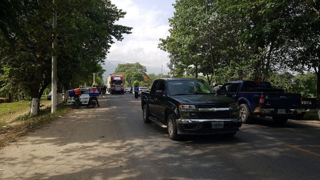 desalojan taxistas en El Progreso