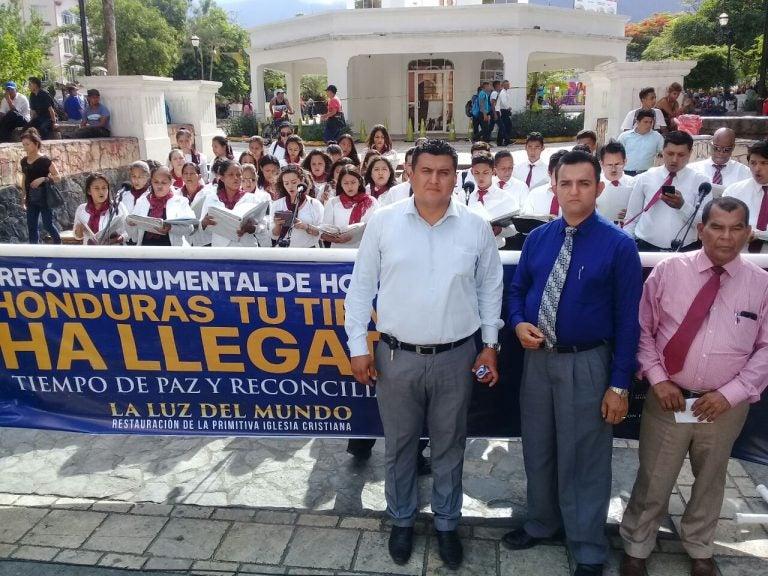 SPS: Iglesia La Luz del Mundo realiza concierto con monumental coro nacional