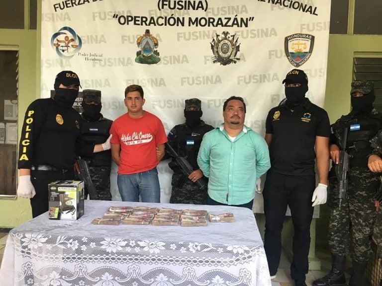 Los envían a la cárcel de Támara tras caer con L. 900,000 en SPS